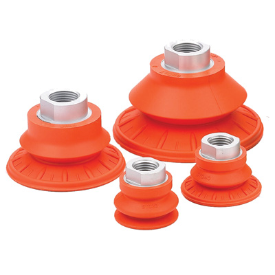 Single Bellows Vacuum Suction Traction Cups
